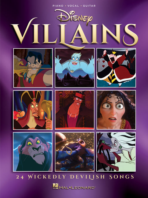 Disney Villains: Piano, Vocal, Guitar