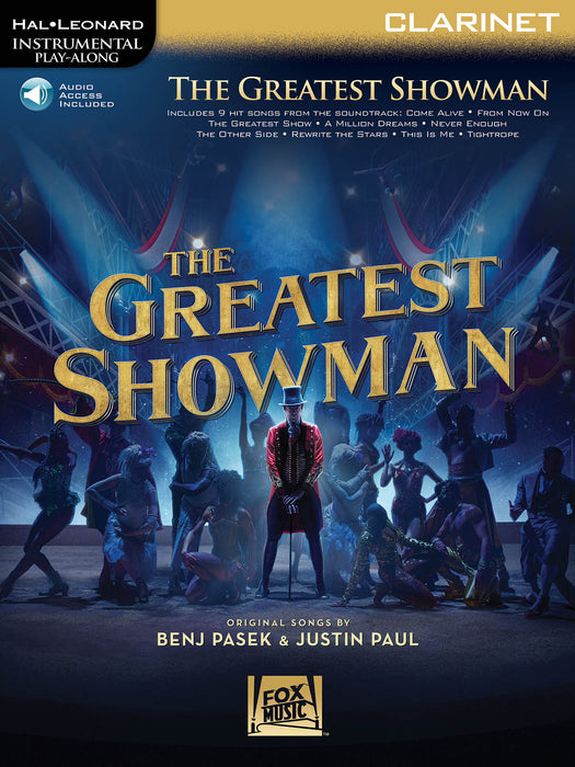 Benj Pasek: The Greatest Showman - Clarinet