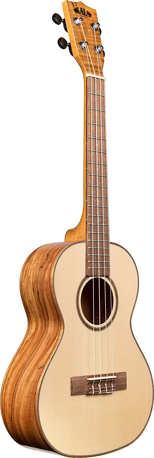 Kala Solid Spruce Flame Maple Tenor Ukulele KA-FMTG