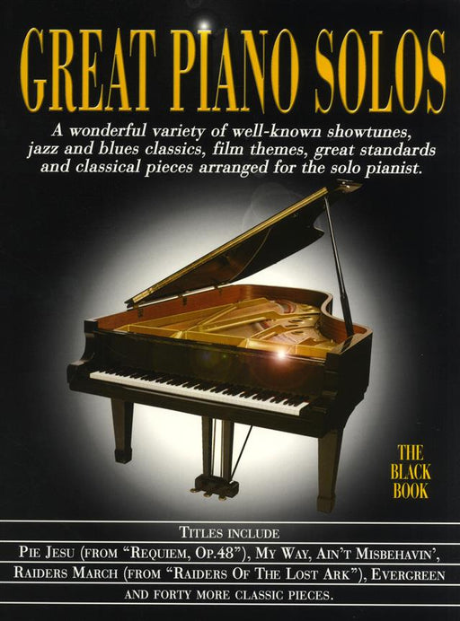 Great Piano Solos - The Black Book: Piano