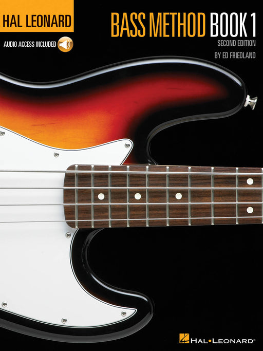 Hal Leonard Bass Method Book 1 with audio access