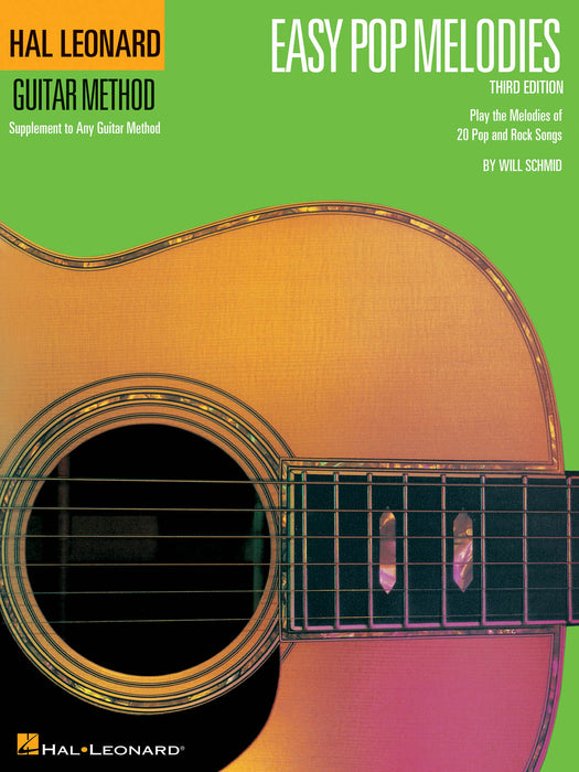 Easy Pop Melodies - 3rd Edition: Guitar