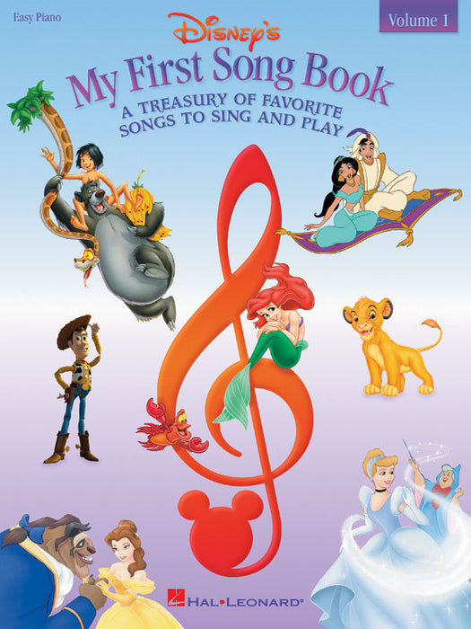 Disney's My First Songbook Vol. 1: Easy Piano
