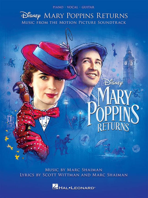 Mary Poppins Returns: Piano, Vocal, Guitar