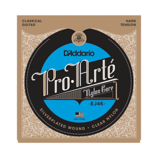 D'Addario Pro-Arté Nylon Classical Guitar Strings - EJ46 - Hard Tension