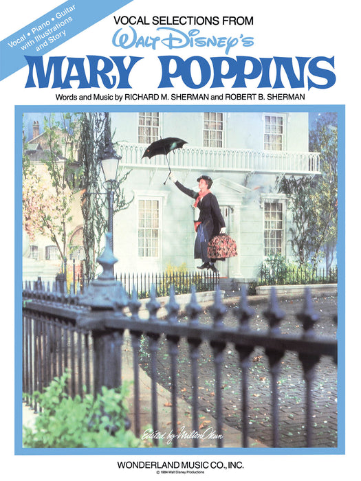 Richard M. Sherman: Mary Poppins: Piano, Vocal, Guitar