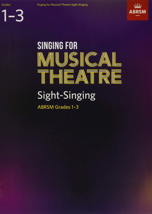 ABRSM: Singing for Musical Theatre Sight-Singing