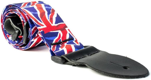 Leathergraft Liverpool - Graphic Webbing Guitar Strap - Union Jack