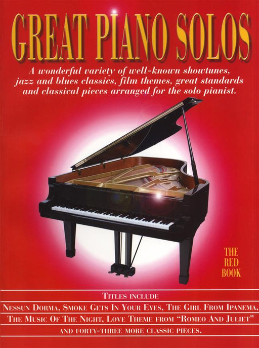 Great Piano Solos - The Red Book: Piano