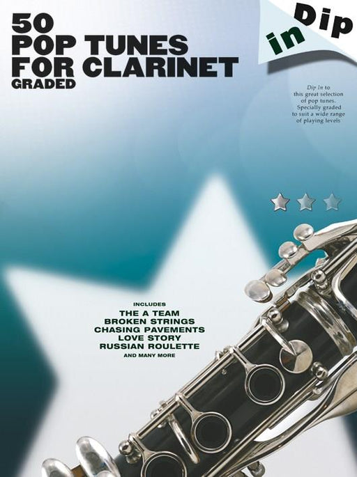 Dip In 50 Pop Tunes for Clarinet