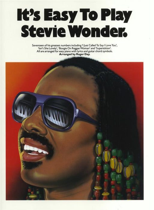 It's Easy To Play Stevie Wonder: Piano, Vocal, Guitar