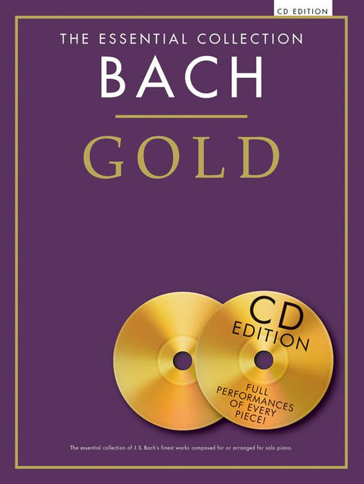 The Essential Collection: Bach Gold (CD Edition): Piano