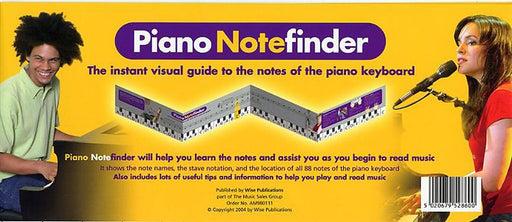 Wise Publications: Piano Note Finder (Visual Keyboard)