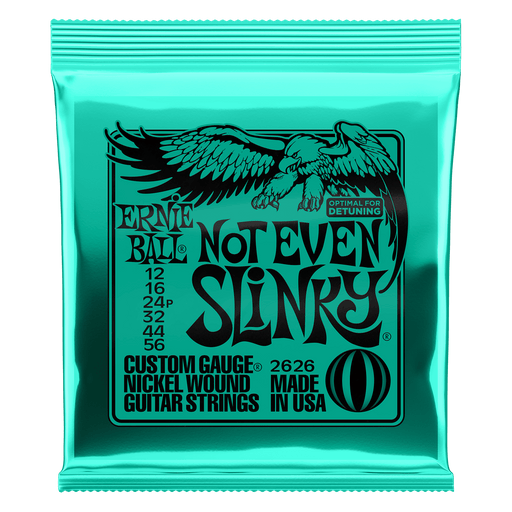 Earnie Ball Not Even Slinky Nickel Wound Electric Guitar Strings - 12-56 Gauge
