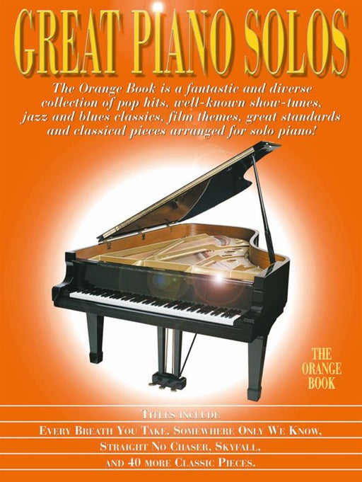 Great Piano Solos - The Orange Book: Piano