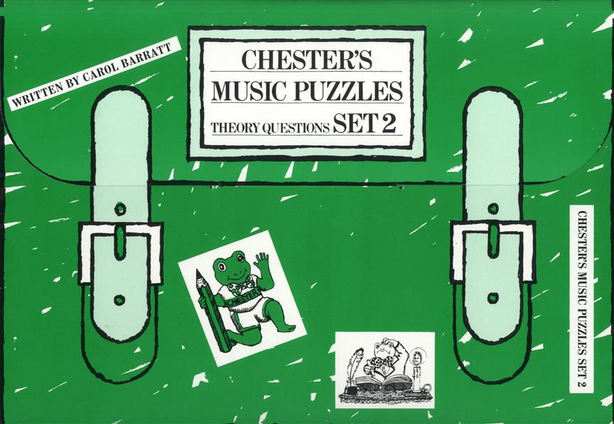 Chester's Music Puzzles - Set 2: Piano