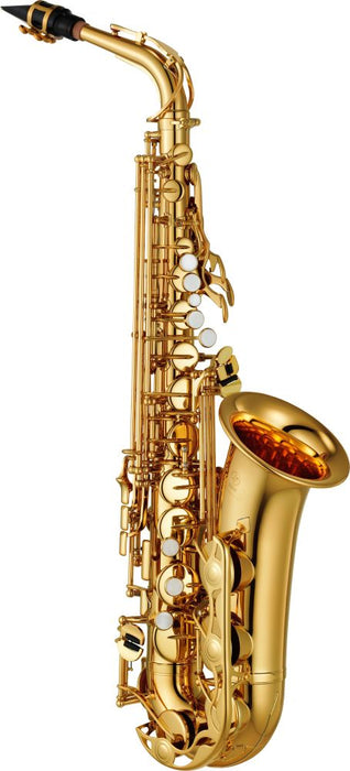 Yamaha YAS-280 Eb Alto Saxophone Outfit - Gold lacquer