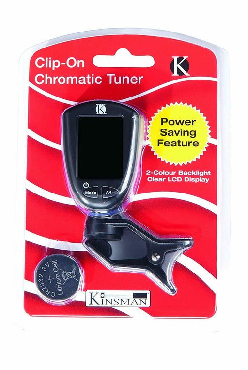 Kinsman Clip-On Chromatic Tuner