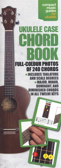 Ukulele Case Chord Book-Full Colour