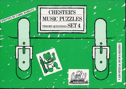 Chester's Music Puzzles - Set 4: Piano