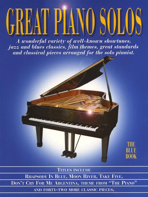 Great Piano Solos - The Blue Book: Piano