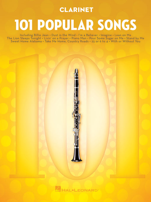 101 Popular Songs: Clarinet