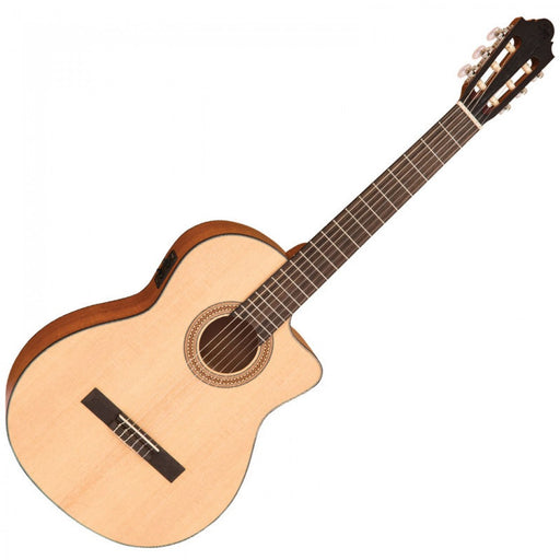Santos Martinez Estudio 4/4 Electro Acoustic Classic Guitar - Natural Satin