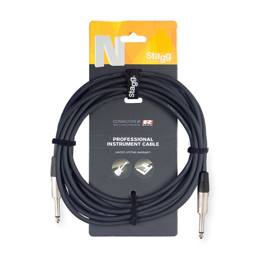 Stagg N Series - Straight to Straight Instrument cable - 10ft