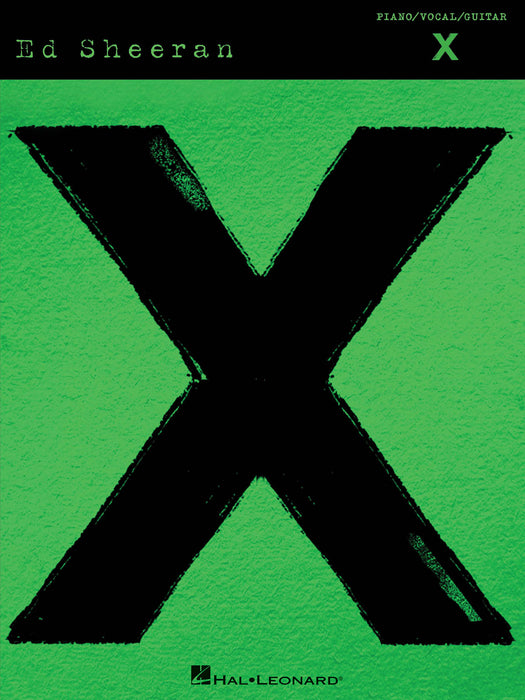 Ed Sheeran: X MULTIPLY: Piano, Vocal, Guitar