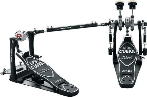 XDEMO Tama Iron Cobra Power Glide Double Pedal w/ Case