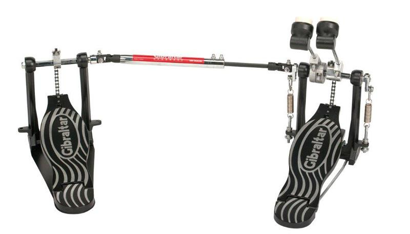 Gibraltar 4611DB Double Kick Bass Drum Pedal