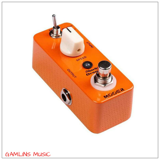 Mooer Ninety Orange - Analogue Phaser Pedal