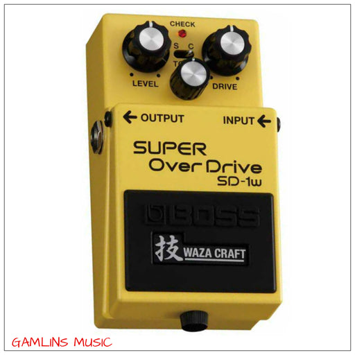 Boss SD-1W Special Edition Waza Craft Overdrive Pedal