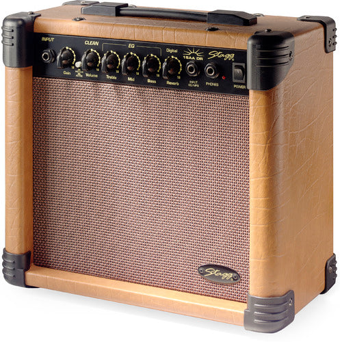 Stagg 15AA DR UK Acoutic Guitar Amp
