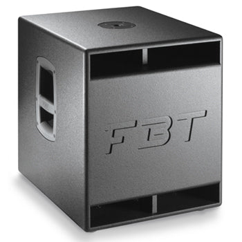 FBT Subline 12SAC 600W RMS 129/133dB SPL Processed Active Subwoofer