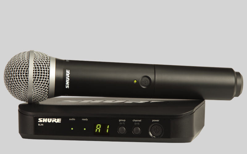 Shure BLX24E/SM58-S8 Handheld Wireless Microphone System
