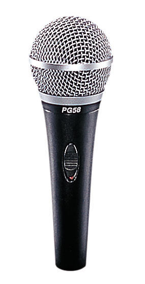 Shure PG58 Handheld Dynamic Vocal Microphone