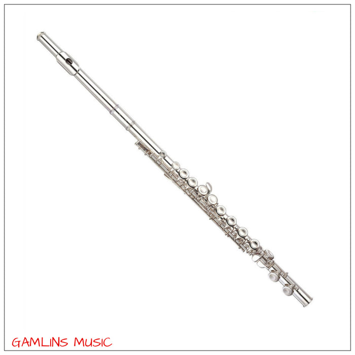 Yamaha YFL 411S Flute Outfit