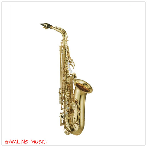 Yamaha YAS-480 Alto Saxophone Outfit - Gold Lacquer With High F# Key
