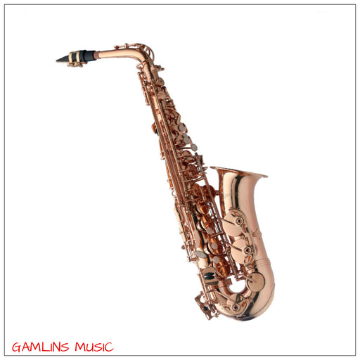 Levante LV-AS4105 Alto Saxophone Outfit - Gold