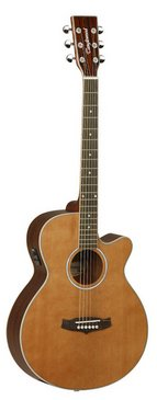 Tanglewood Evolution TSFCEN Electro Acoustic Folk Guitar  - Natural