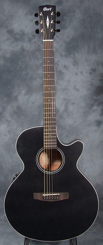 Cort SFX 1 F Electro Acoustic Folk Guitar - Black