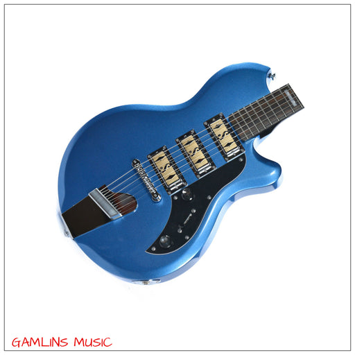 Supro Hampton Island in Ocean Metallic Blue