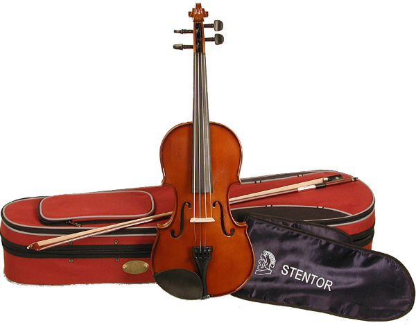 Stentor Student II 4/4 Violin Outfit Includes Case Rosin & Bow
