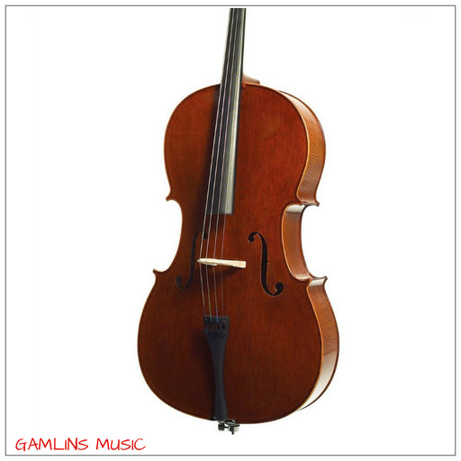 Stentor Messina 4/4 Cello Oufit Includes Gig Bag, Rosin & Bow