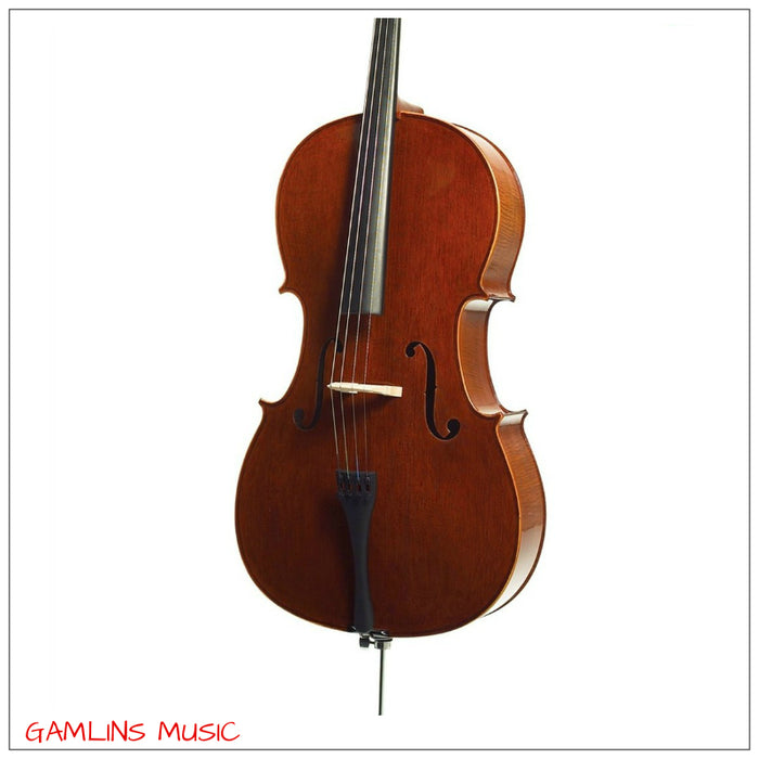 Prima C-103 3/4 Cello Oufit Includes Gig Bag, Rosin & Bow