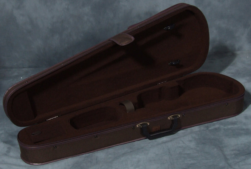 Prima P100 Student Shaped Stylefoam Violin Case - Brown