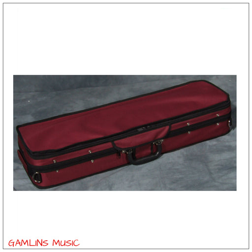 Prima P-100 WR - Wine Red Foam Violin Case