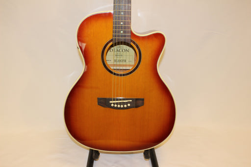 Deacon SDG-828 CEF Electro Acoustic Folk Guitar - Natural