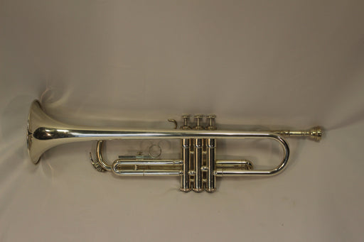 USED Yamaha T100 Trumpet Outfit - Silver Plated
